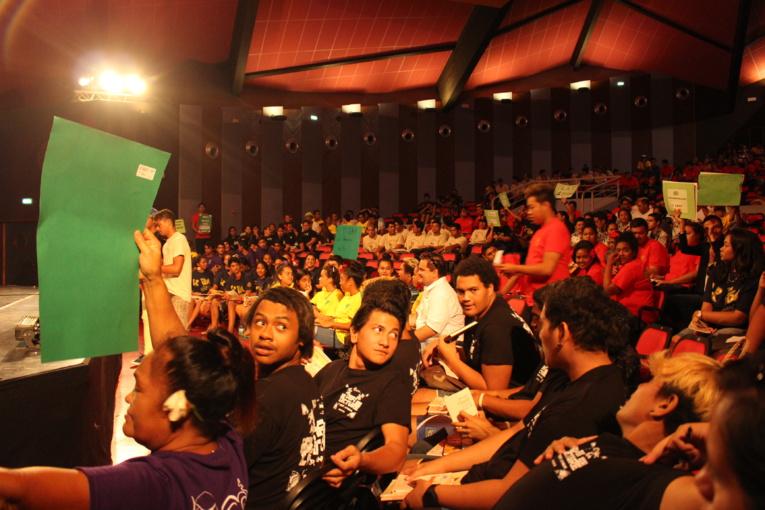 La finale du défi-lecture inter-établissements professionnels a rassemblé 400 lycéens