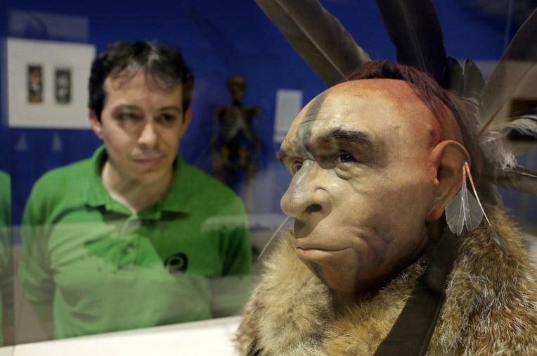 L'homme de Néandertal, notre cousin pas si lointain, à Paris