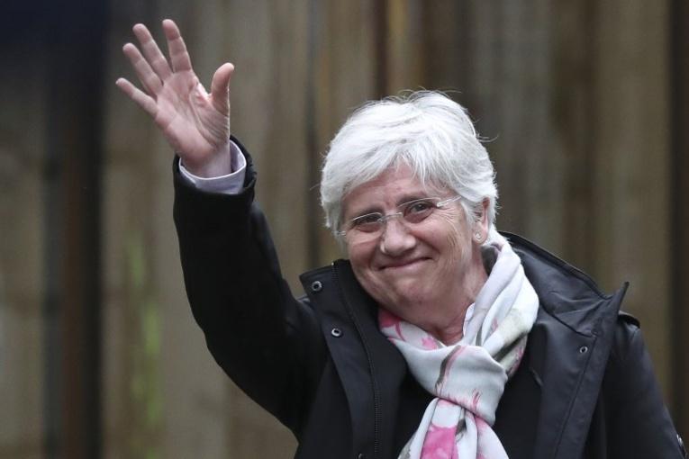 L'indépendantiste catalane Clara Ponsati, exilée en Ecosse, s'est rendue à la police
