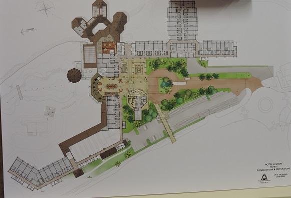 Hilton à Faa'a : 16 à 18 mois de travaux prévus