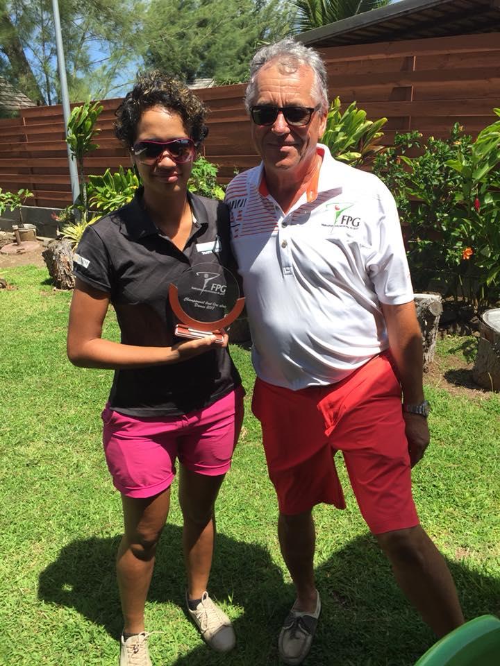 Golf - Championnat de Polynésie : Un nouveau titre pour Vaea Nauta