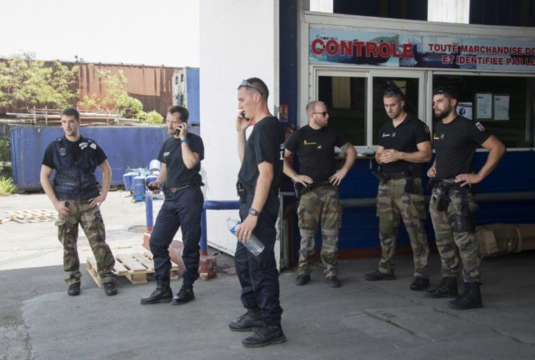 Photo d'illustration de gendarmes en Guadeloupe.