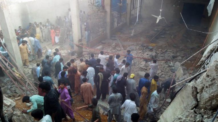 Pakistan: onze morts dans l'effondrement d'un toit