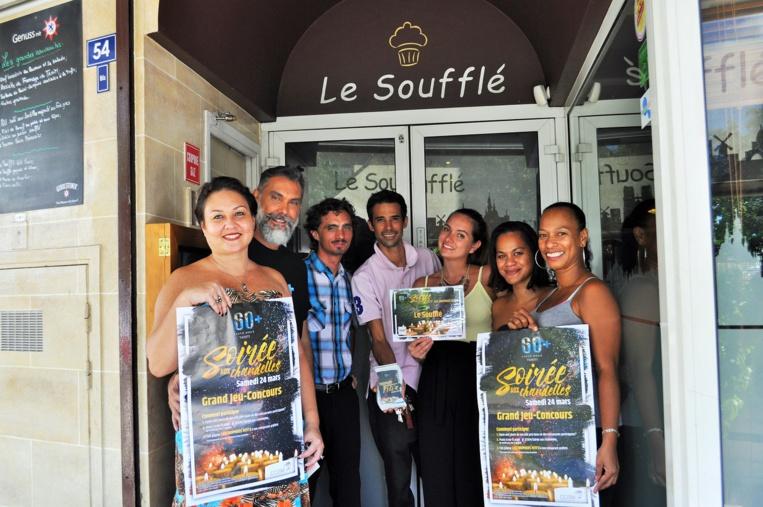 Le restaurant Le Soufflé a remporté le 1er prix des Trophées Feti'a.