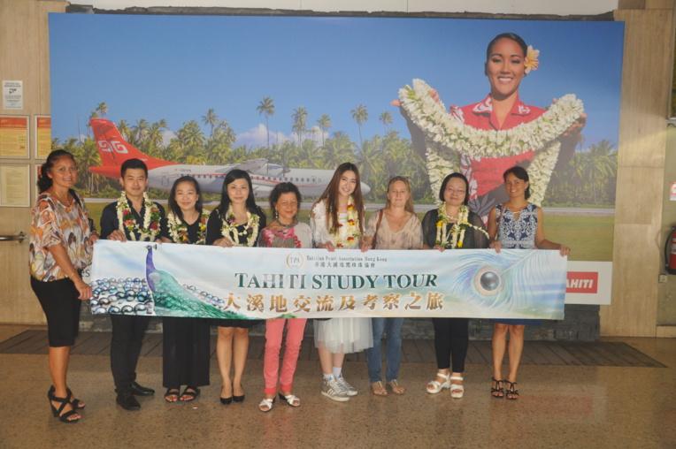 Une délégation de la Tahitian Pearl Association of Hong Kong est au fenua depuis le week-end dernier.