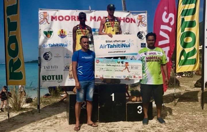 Le podium du marathon