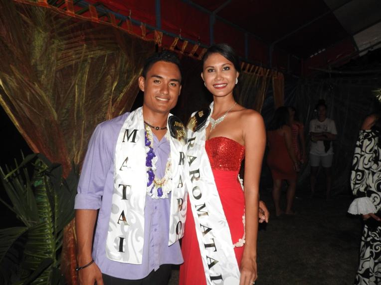 Miss et Mister Raromatai 2018 : Monoihere Atger et Heifara Hart remportent le titre