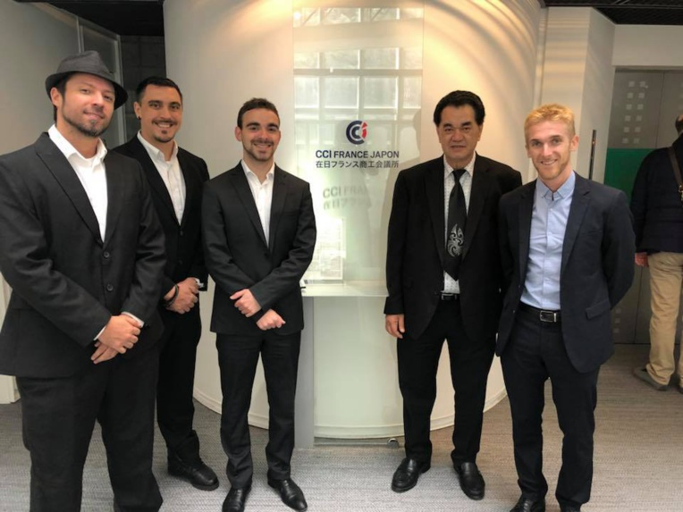 Blackstone Productions : objectif Japon