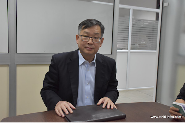 Shen Zhiliang, consul de Chine en Polynésie française