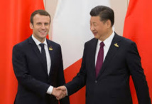 En Chine, Macron veut lancer l'Europe sur les routes de la soie