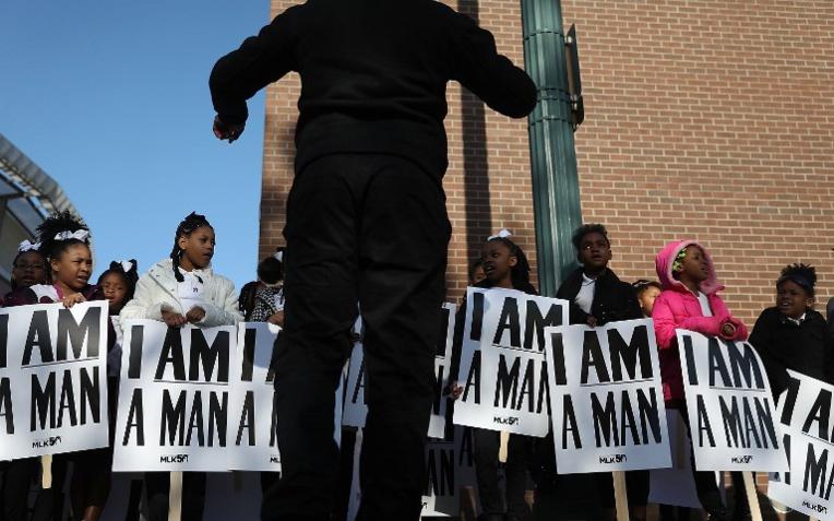 L'Amérique rend hommage à Martin Luther King, 50 ans après sa mort