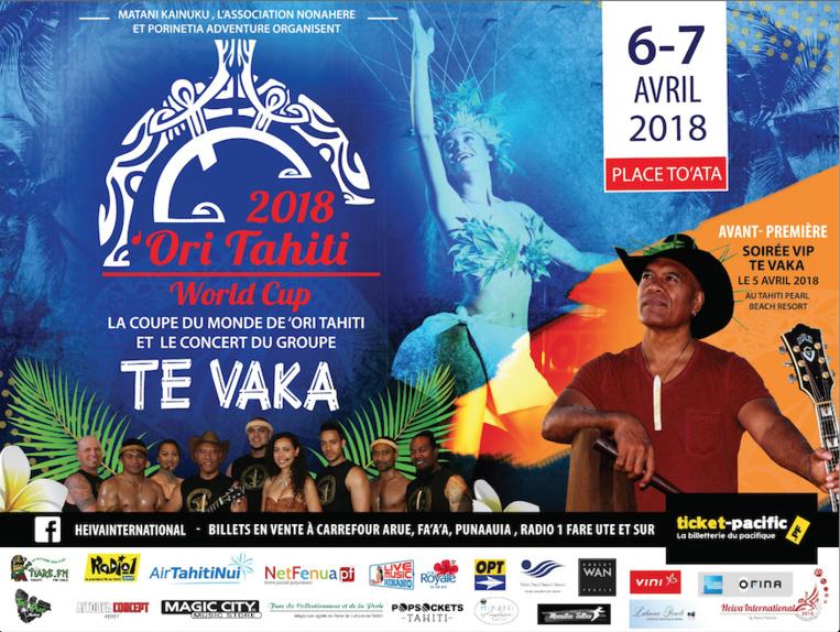 192 participants pour la Coupe du monde de 'Ori Tahiti