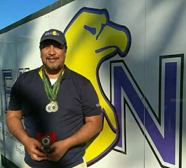 Teiki Nanai est devenu champion d'Australie de ball-trap