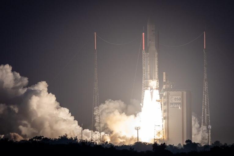 Mission réussie pour Ariane 5 qui a placé sur orbite deux satellites de télécommunications