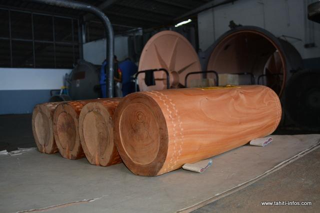 Les bois non traités doivent également passer par la case phytosanitaire.