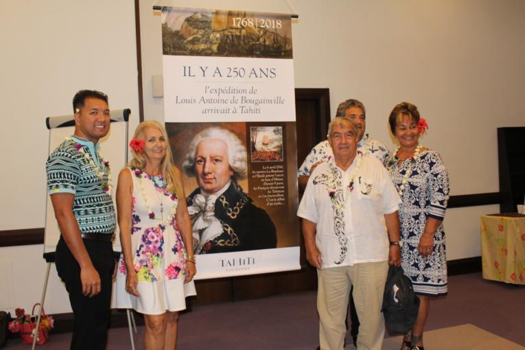 Une expo célèbre les 250 ans de l'arrivée de Bougainville à Tahiti