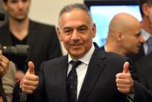 Foot: mea culpa du président de la Roma qui a fêté la victoire dans une fontaine