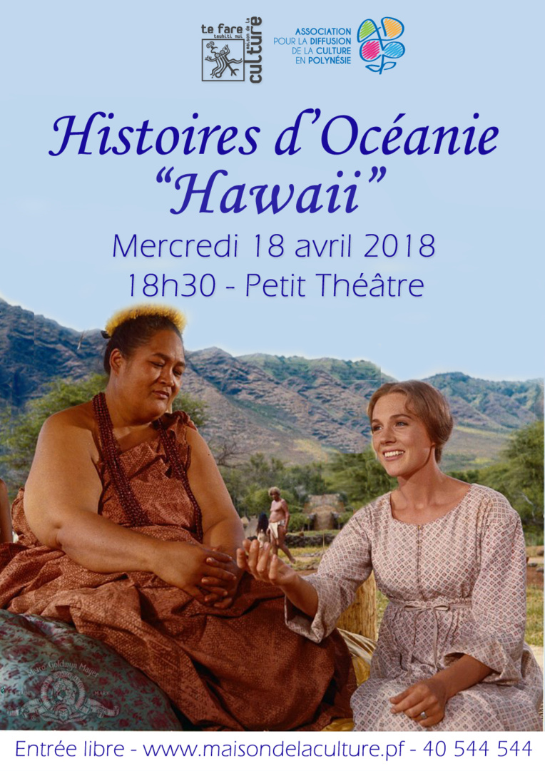 """""""Hawaii"""" sur grand écran le 18 avril dans le cadre d'Histoires d'Océanie"""