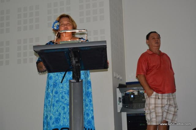Vaitea Legayic a tenu à rendre hommage à son père.