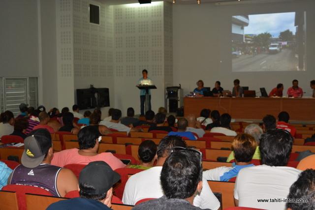 L'assemblée générale de la CSIP s'est tenue vendredi matin, dans l'amphithéâtre du CHPF de Taaone.