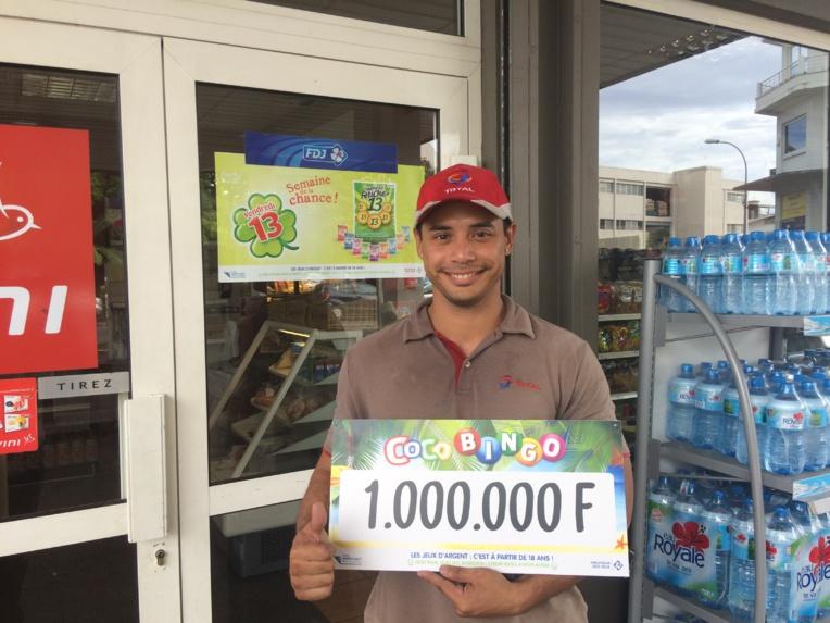 Vendredi 13: un gagnant polynésien remporte 1 Million F au Coco Bingo