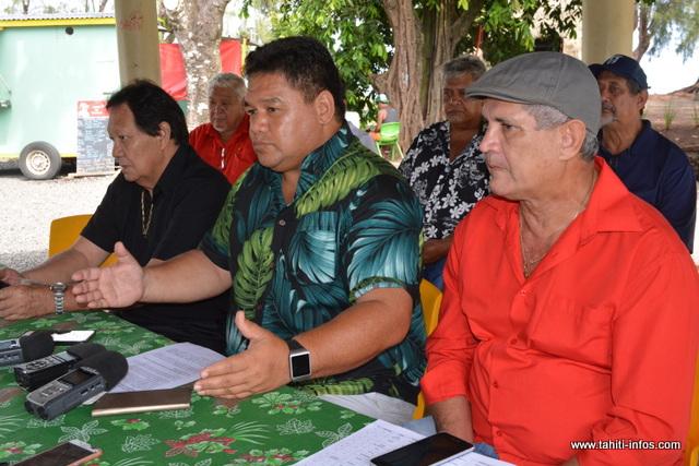 Damas Teuira soutient le Tapura Huiraatira