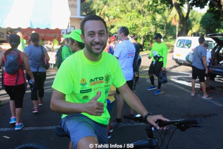 Matahi Ebb, directeur commercial d'Aito Sport