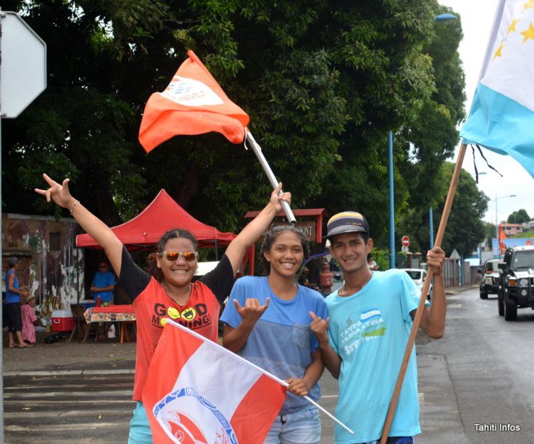 Territoriales 2018 : Ambiance joyeuse dans les bureaux de vote