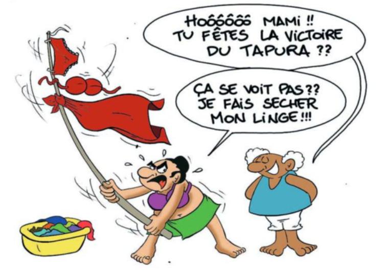 """"""" Territoriales 2018 : Tapura domine le 1er tour """" par Munoz"""