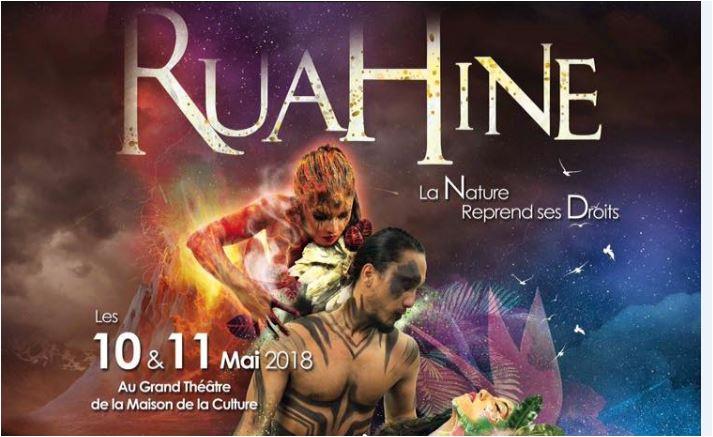 Gagne deux places pour le spectacle Ruahine (le 11 mai au grand théâtre de la Maison de la culture)