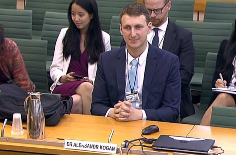 L'auteur de l'application au coeur du scandale Facebook devant les députés britanniques