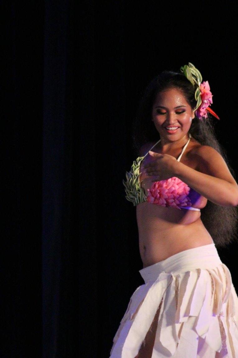 Mahealani Amaru en lice pour le concours national du club Soroptimist