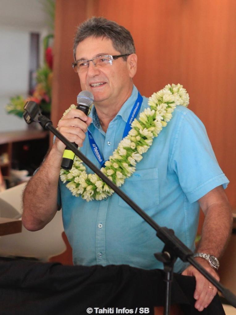 Michel Monvoisin, PDG d'Air Tahiti Nui