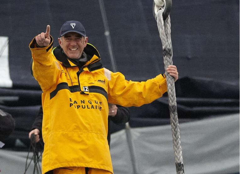 Parrain de la 15è Tahiti Pearl Regatta, le navigateur Loïck Peyron arrivera ce soir au fenua.