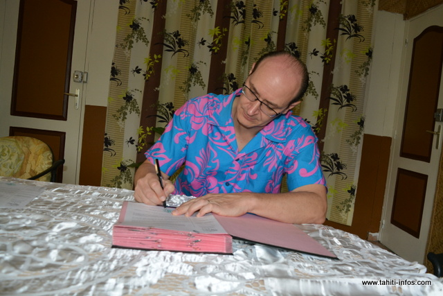 La demande de radiation a été rédigée et signée ce vendredi matin.