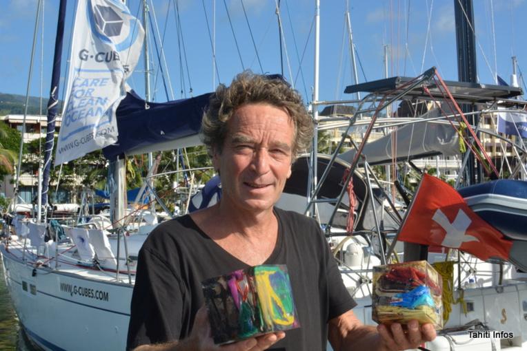 G-Cubes: aventure, art et protection des océans
