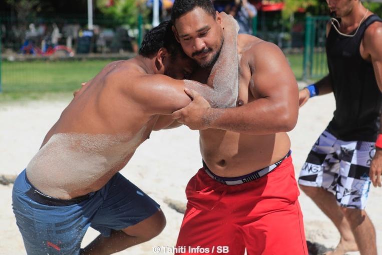 Loïc Tautu, imbattable en + de 100 kg