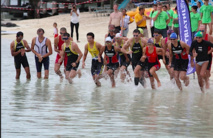 C'est lors de l'épreuve de natation que le drame est arrivé ( image d'archives)