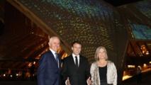 Macron remercie l'engagement de l'Australie dans les conflits mondiaux