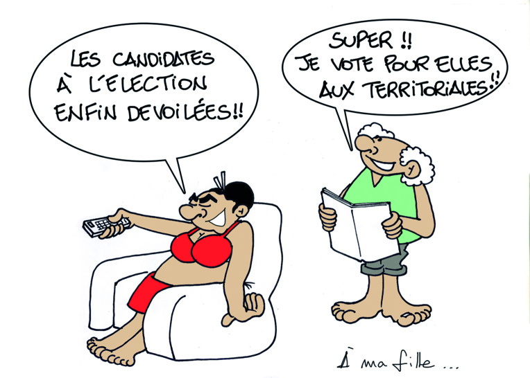 """"""" Les élections """" par Munoz"""