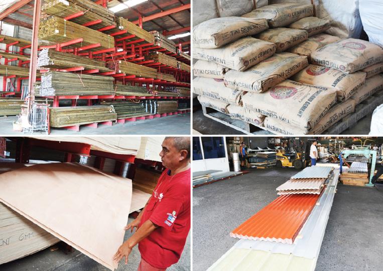 Les sacs de ciment, les tôles, les bois traités et les contreplaqués, ce sont les quatre matériaux de construction dont le fret est pris en charge à 100 % par le pays.