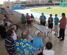 « Oceania Masters Athletics Championships du 3 au 10 juillet au stade Pater »