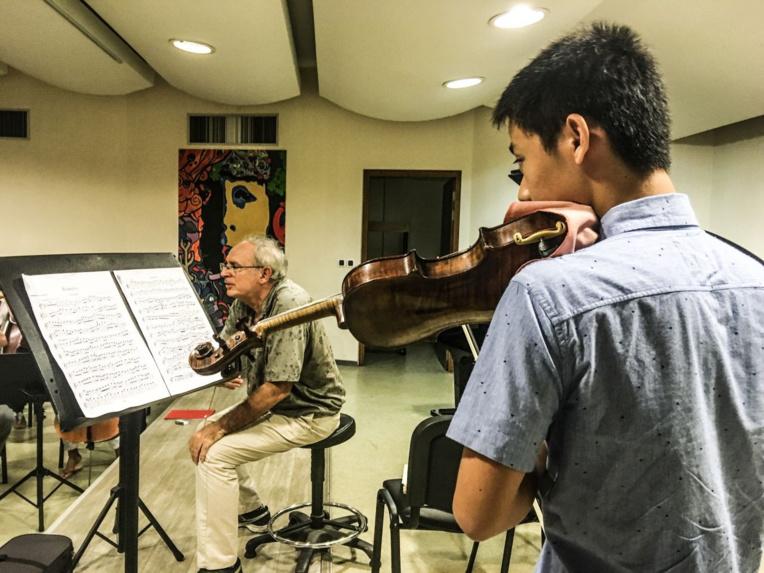 L'orchestre symphonique du Conservatoire sur scène le 19(...)
