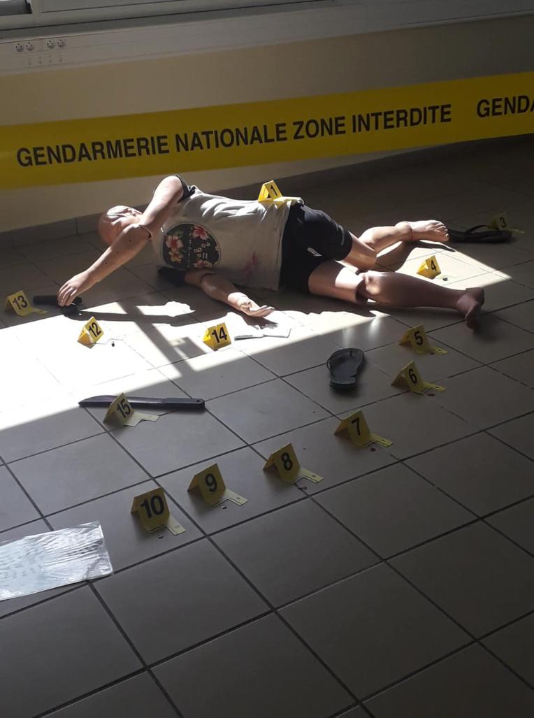 Armes, scènes de crime, stupéfiants: une journée de formation pour les muto'i
