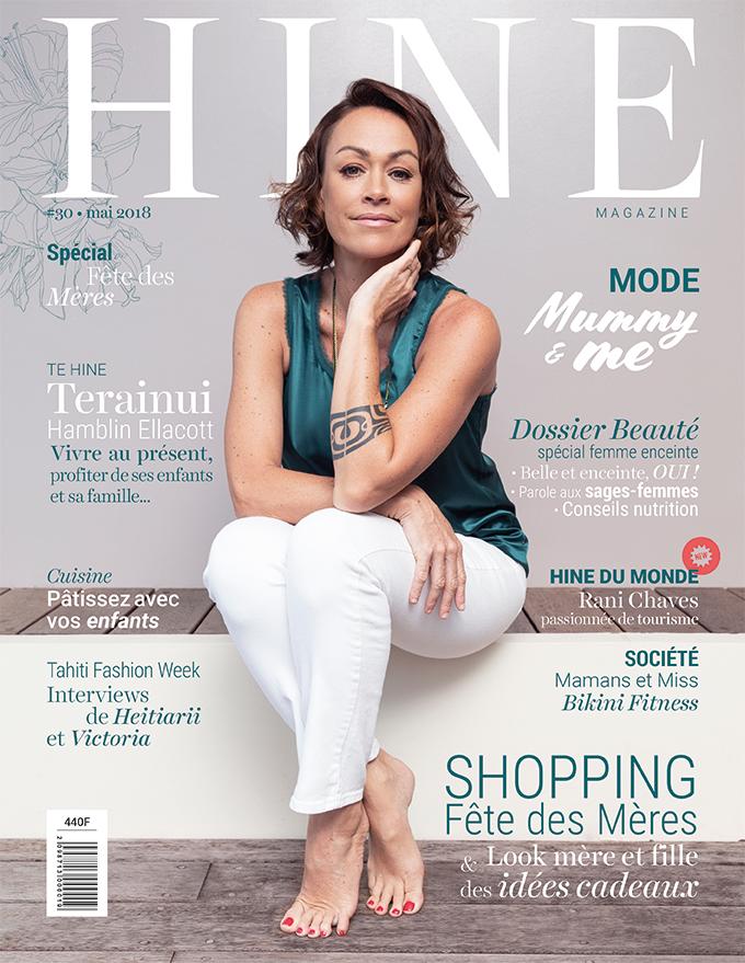 À la Une de Hine Magazine, mai 2018