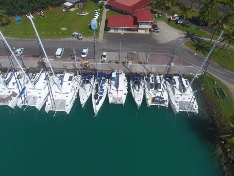 Défisc' nationale pour le laboratoire de cosmétologie et Dream Yacht Tahiti