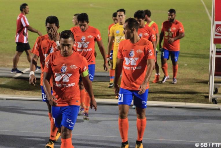 Dragon a gagné sa place en finale de la Coupe de Tahiti Nui