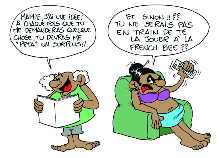 """"""" L'offre de French Bee """" vu par Munoz"""