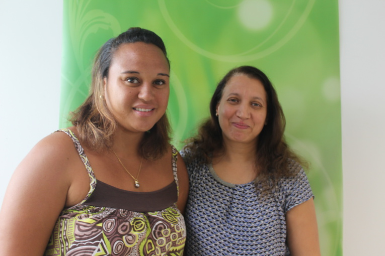 Tilda Maruhi, assistante sociale à la Protection judiciaire de la jeunesse et Fouzia Tamba, psychologue à la Protection judiciaire de la jeunesse.