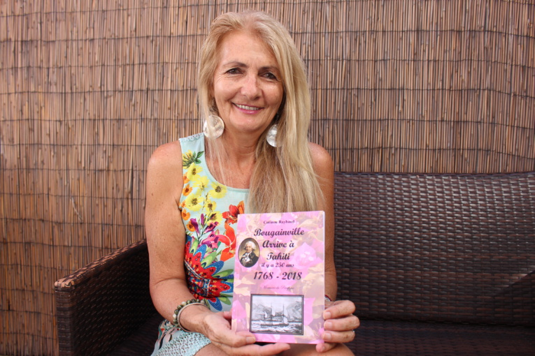 Le nouveau livre de Corinne Raybaud raconte Bougainville